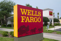 Wells Fargo Royalty Free Stock Photography