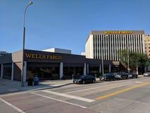 Wells Fargo Bank στοκ εικόνες