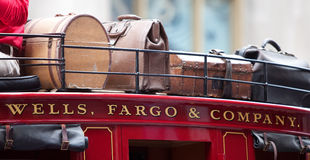 Wells Fargo Bank Photographie stock
