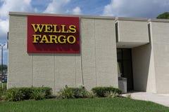 Wells Fargo Bank imagens de stock royalty free