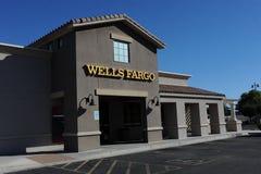 Wells Fargo Bank Fotografia Stock Libera da Diritti