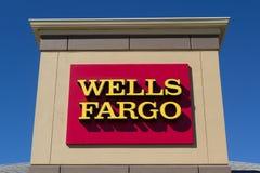 Wells Fargo Bank Royalty-vrije Stock Foto