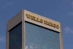 Wells Fargo Bank Fotografia Stock