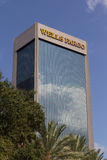 Wells Fargo Bank fotografia de stock royalty free