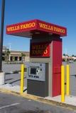 Wells Fargo Bank ATM Stockfotos