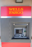 Wells Fargo Bank ATM Machine Stock Images