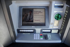 Wells Fargo Bank ATM Machine Royalty Free Stock Photo