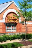 Wells Fargo Bank Branch Building Royalty Free Stock Images