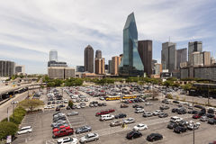 Wells Fargo Bank building in Dallas Downtown Stock Images