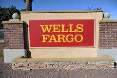 Wells Fargo Bank Royalty Free Stock Photos