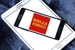 Wells fargo bank logo Stock Photography