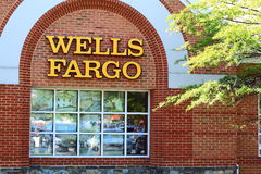 Wells Fargo Bank Royalty Free Stock Photo