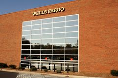Wells Fargo Building Royalty Free Stock Images