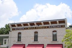 Wells Fargo Express Banking images stock