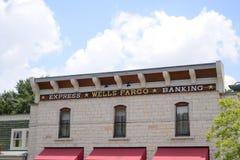Wells Fargo Express Banking imagenes de archivo
