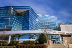 Wells Fargo Linden Center Stock Photos