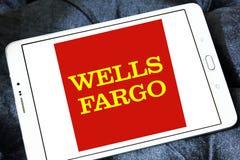 Wells Fargo logo Arkivbilder