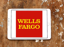 Wells fargo logo Royalty Free Stock Images