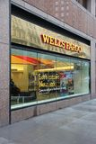 Wells Fargo. NEW YORK - JUNE 10: Wells Fargo Bank branch on June 10, 2013 in New York. Wells Fargo was the 23rd largest company in the United States in 2011 (by Royalty Free Stock Photo