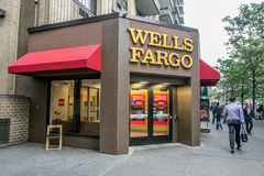 Wells Fargo s'embranchent photographie stock