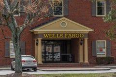 Wells Fargo wejście Obrazy Stock
