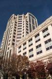 Wells Fargo wierza Buduje, Roanoke, Virginia, usa Zdjęcie Royalty Free