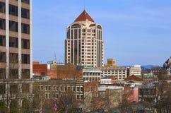Wells Fargo wierza, Roanoke, Virginia zdjęcie stock