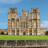Wells-Kathedrale Stockbild