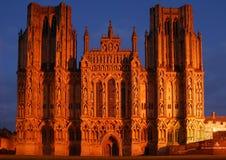 Wells-Kathedrale lizenzfreies stockbild