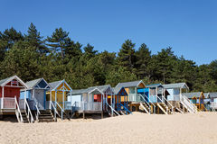 WELLS NEXT THE SEA, NORFOLK/UK - JUNE 3 : Some brightly coloured Stock Photo