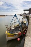 Fishing boat, Wells-next-the-sea, England Royalty Free Stock Photo