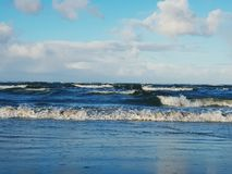 Rolling waves Royalty Free Stock Image