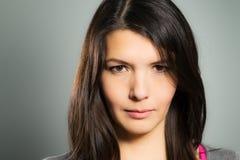 Wellustige mooie jonge vrouw Stock Foto