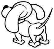 Welpen-Hund Stockbild