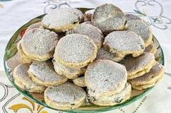 Welse cakes klaar te eten Royalty-vrije Stock Fotografie