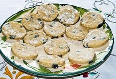 Welse cakes klaar te koken Royalty-vrije Stock Foto