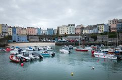 Welse kust, Pembrokeshire Stock Foto