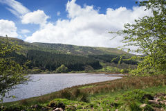 Welsh湖 免版税库存照片