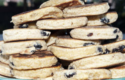 Welsh cakes cooked Stock Photos