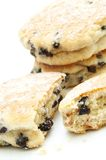 Welsh cakes stacked Royalty Free Stock Images