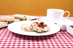 Welsh cakes Stock Photography