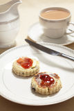 Welsh cakes at tea Stock Photography