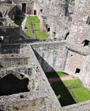 Welsh Castle - Conwy. View of one of the great castles in Wales - this one is Conwy stock photos
