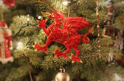 Welsh Christmas Stock Image