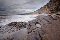 Welsh coast Stock Images