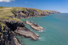 Free Welsh Coastline Royalty Free Stock Photo - 54393035