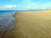 Welsh coastline at Gwynedd. Stock Photos
