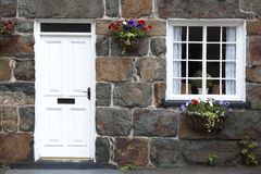 Welsh cottage detail Stock Images