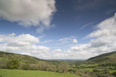 Welsh countryside in the brecon beacons Royalty Free Stock Photos