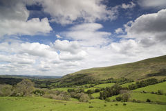 Welsh countryside in the brecon beacons Royalty Free Stock Images